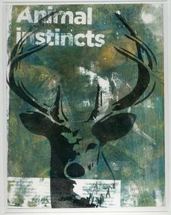 Animal Instincts Wall Art Print