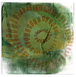 Abstract Circle Wall Art Print