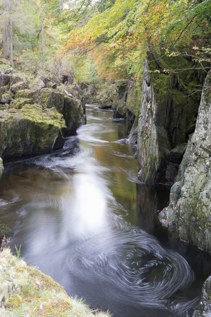 Rocks of Solitude, North  Esk, Angus