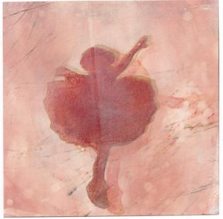 Pink Ballerina Wall Art Print