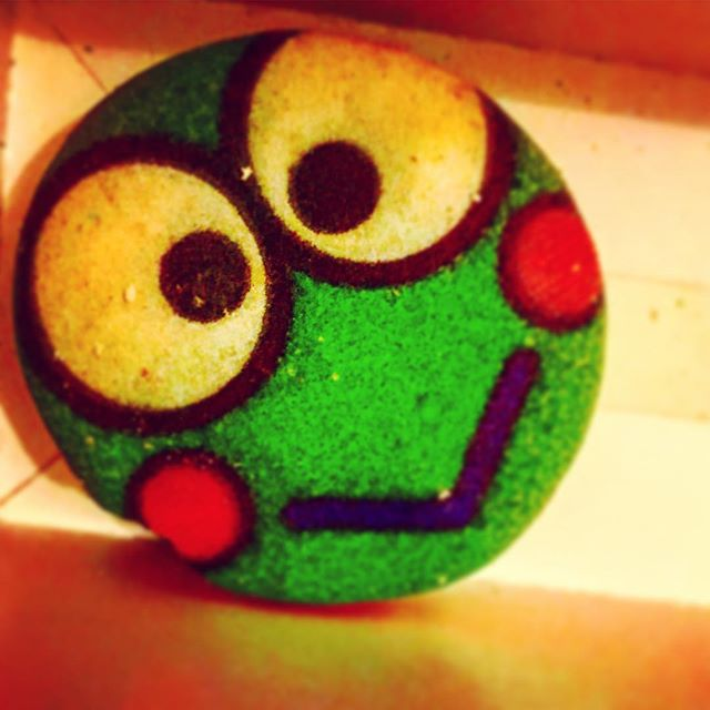 _hellokitty  _hellokitty_food  Keroppi macaroon _3  from the hello kitty food truck _3 #hellokitty #