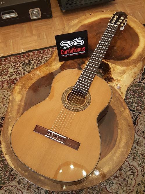 Guitarra clásica ALHE de palo escrito