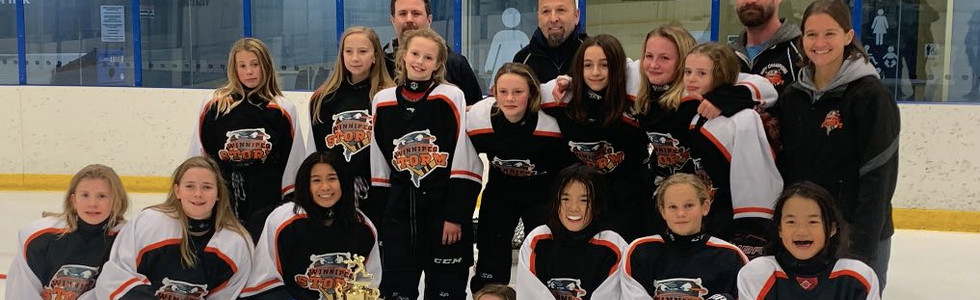 PeeWee A1 Girls Champions - Winnipeg Storm