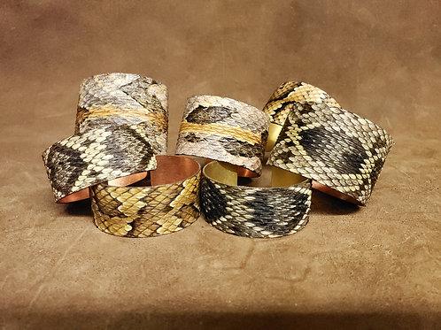 Snake Skin Cuff Bracelet