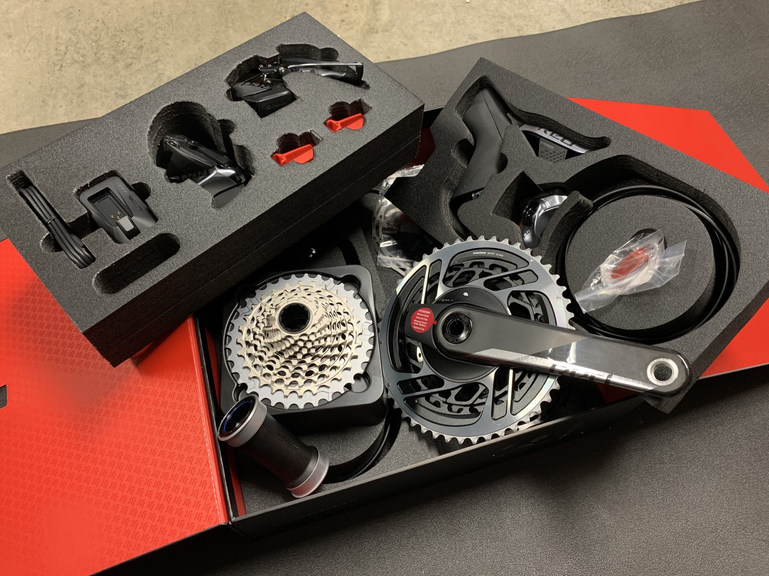 sram red axs groupset
