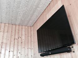 TV + barre son