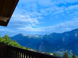 Vue depuis balcon