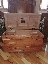 Custom Cedar Chests
