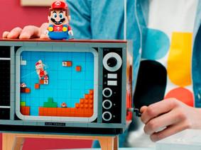 Nintendo 8-bit ganha réplica da LEGO com cartucho do Super Mario Bros