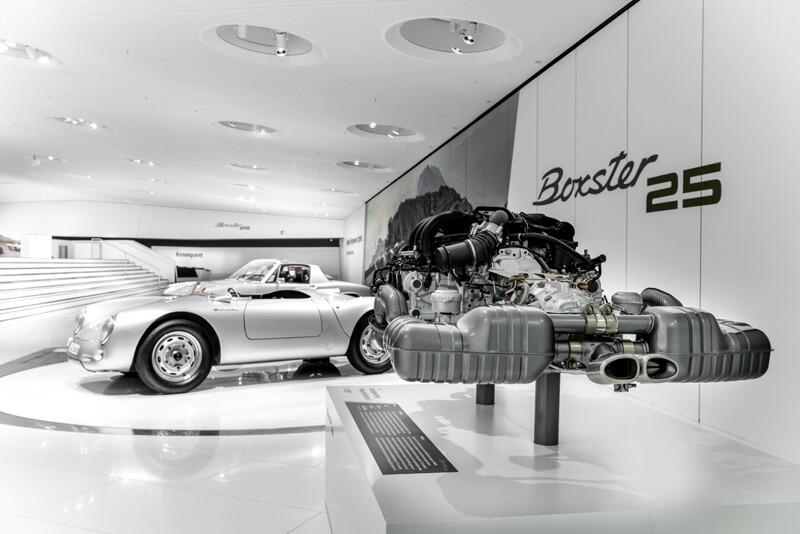 25 anos do Porsche Boxer