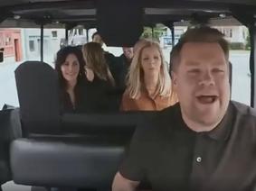 "Atores de 'Friends' cantam ""I´ll be there for you"" no Carpool Karaoke de James Corden"