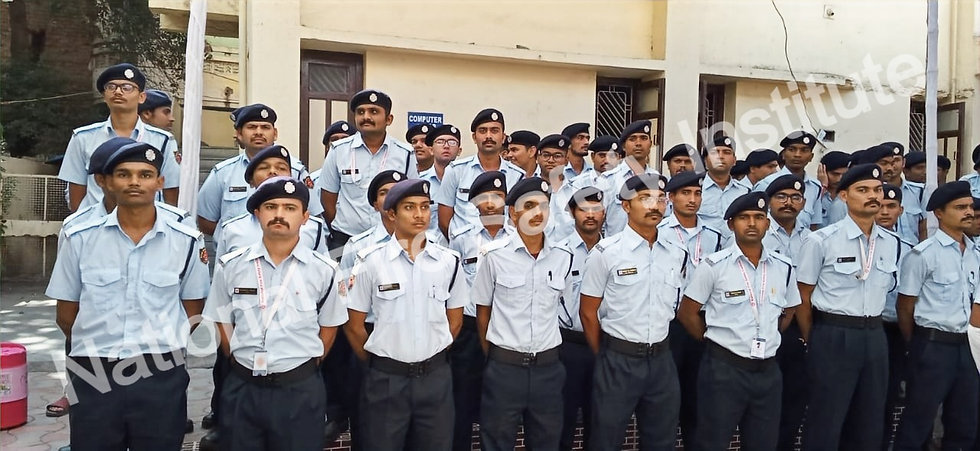 Students of National Fire Safety institute