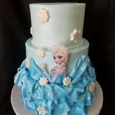 Fondant, texture and 3D cakes