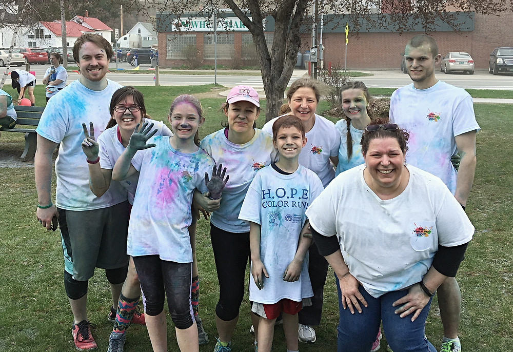 Before the Color Run!!
