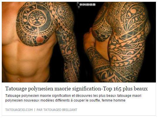 Tatouage polynesien fenua tattoo