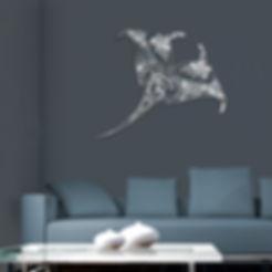 création_murale_en_métal_acier_inox_tiny