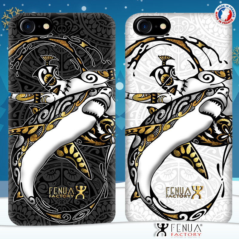 Coque de smartphone apple iphone 7 tatouage polynésien