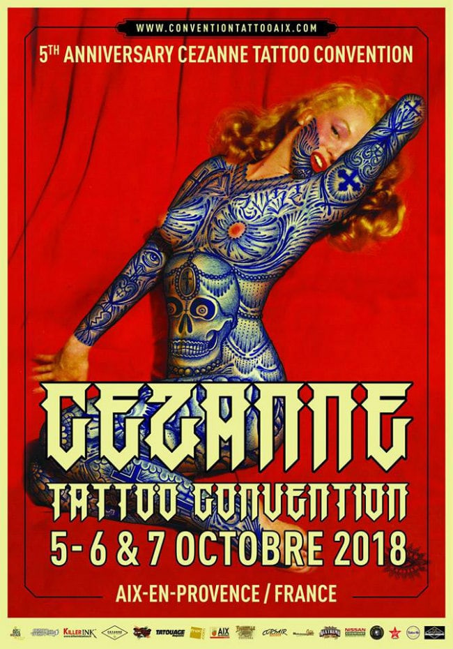 convention de tatouage Cézanne Tattoo