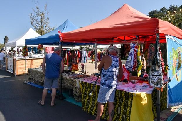 marché artisans Pacific Days