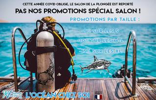 Promotions sur nos décorations murales en métal dans l'univers de la plongée sous marine.