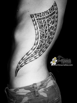 Tatouage polynésien Par Fénua tattoo