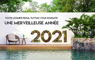Toute l'équipe Fenua Factory VOUS SOUHAITE UNE MERVEILLEUSE ANNEE 2021!