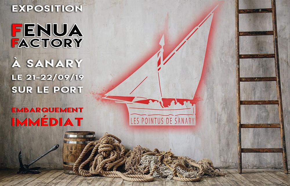exposition décoration murale fenua factory sanary sur mer