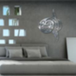 création_murale_en_métal_inox_de_mola_mo