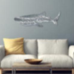 création_murale_en_métal_inox_de_requin_