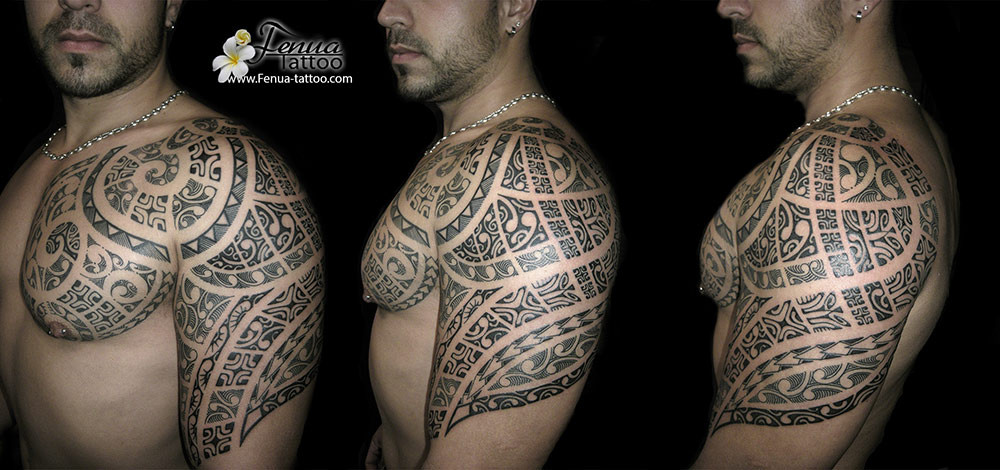 tatouage polynesien maorie tribal