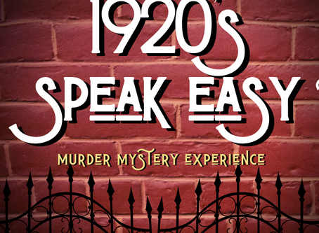 Murder at the Mauger: A 1920's Speakeasy Murder Mystery Experience
