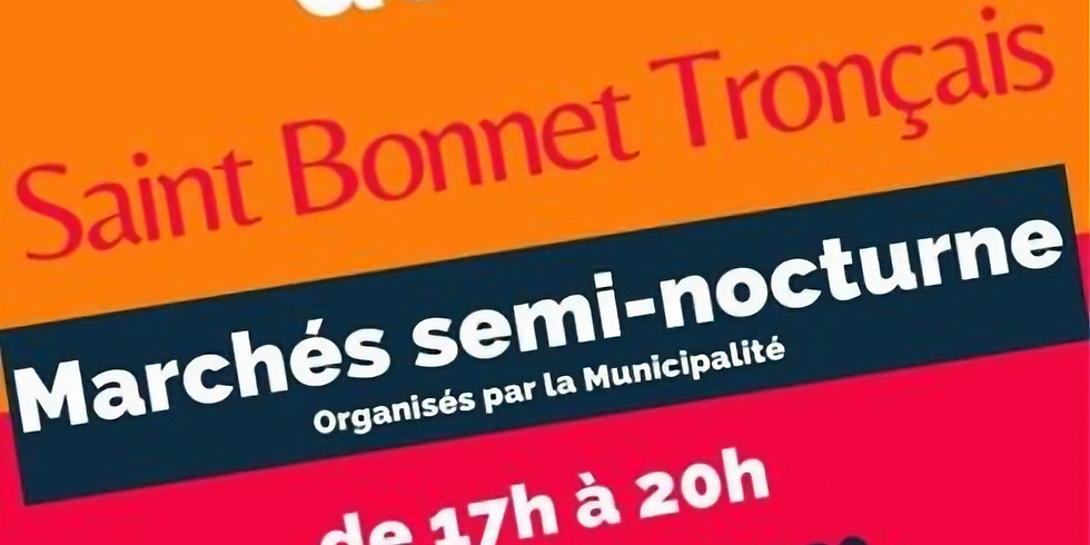 Marché Artisanal St bonnet de tronçais (1)