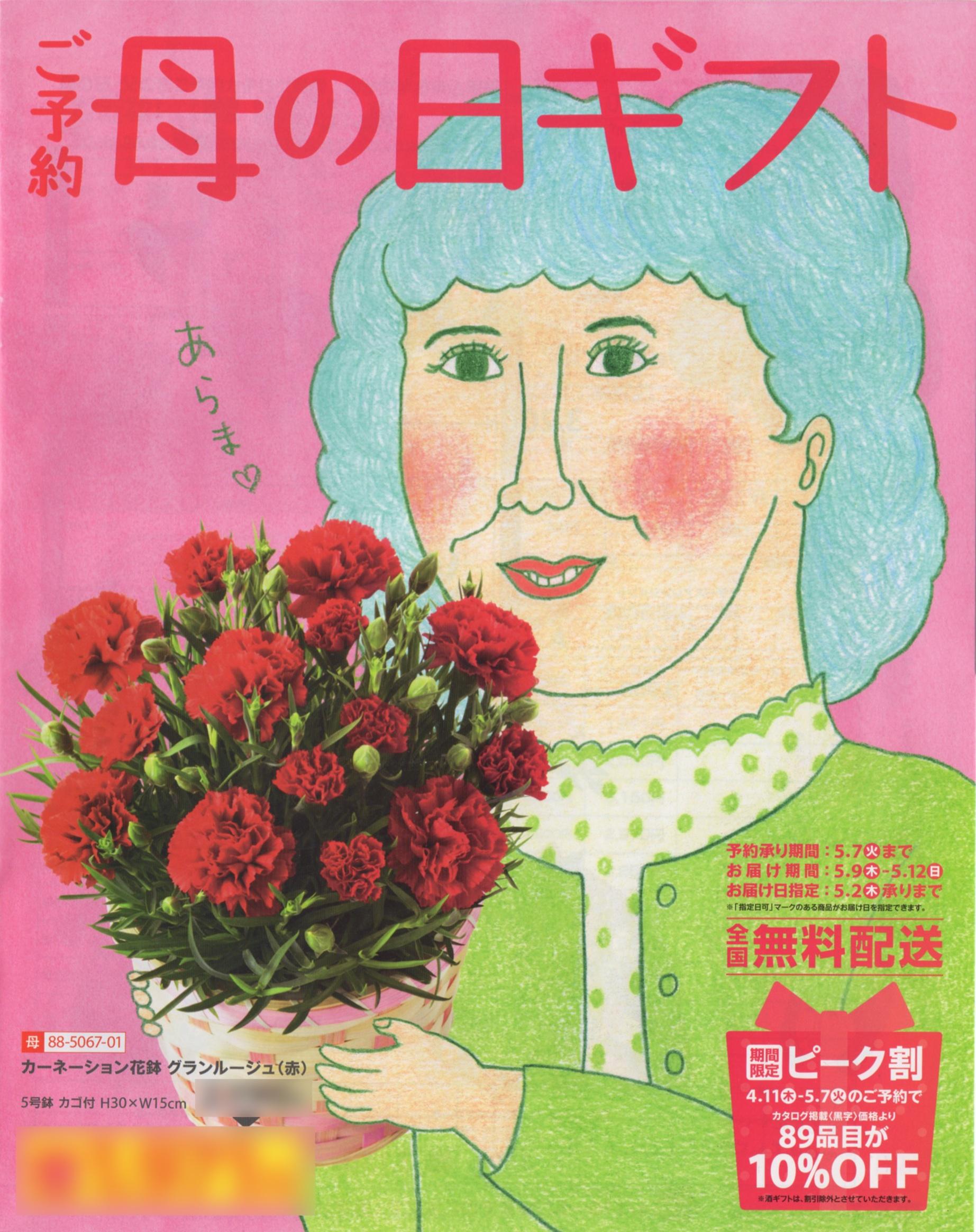 SEIYU母の日カタログ2013