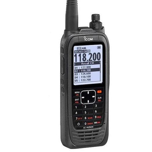 Open Box - ICOM A25 VHF Air Band Radio Transceiver - ICOM A25C-36 VHF Radio (AA)