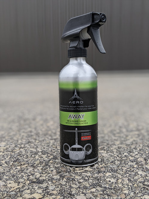 AWAY - Degreaser, Tire, Wheel, and Engine Cleaner