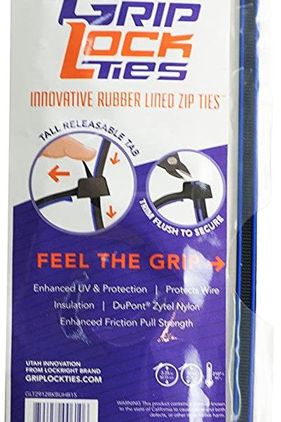 """12"""" Grip Lock Ties"""