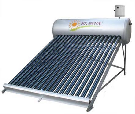 Calentador Solar para Agua de uso Doméstico - Por Gravedad