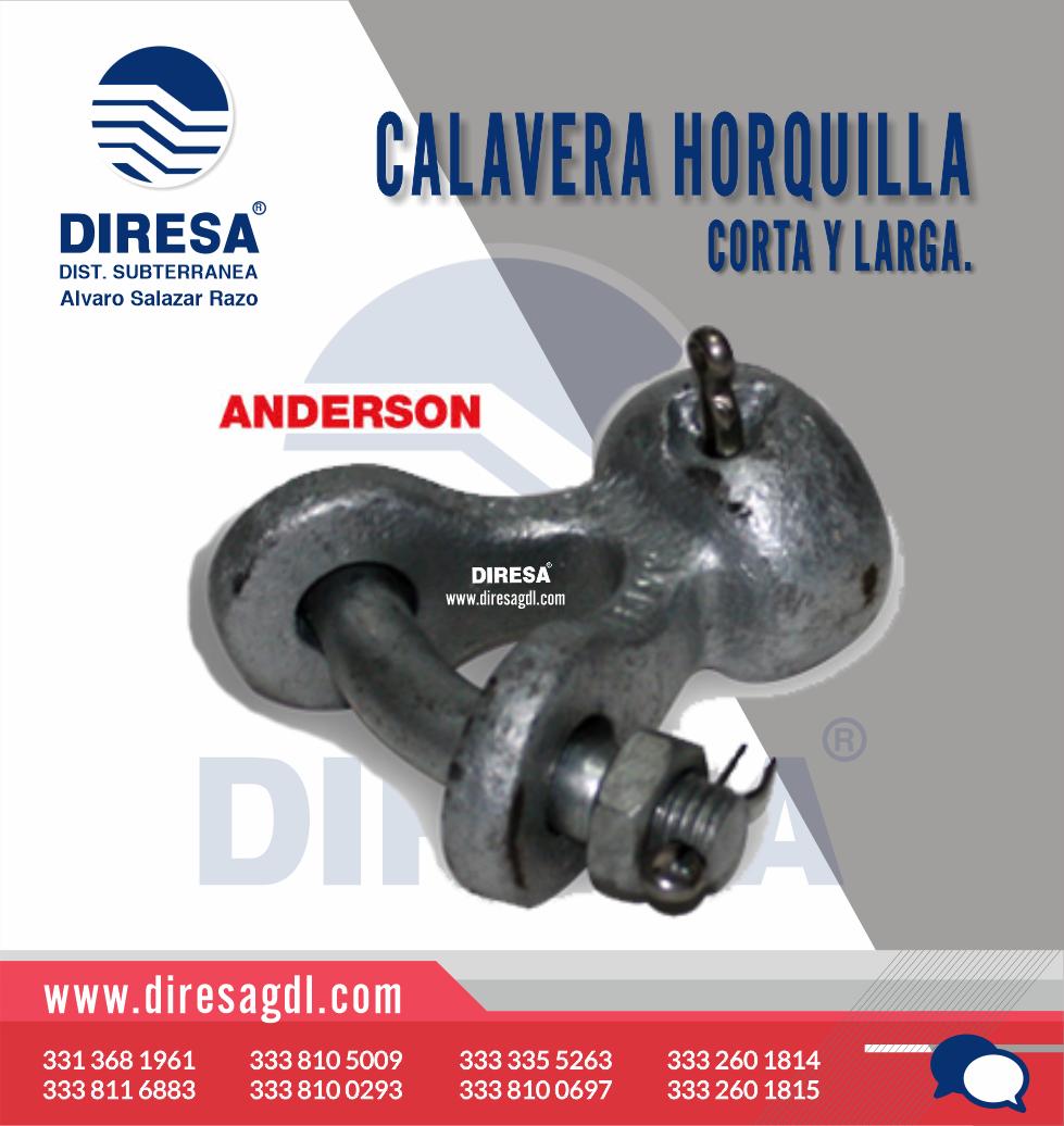 Calavera Horquilla