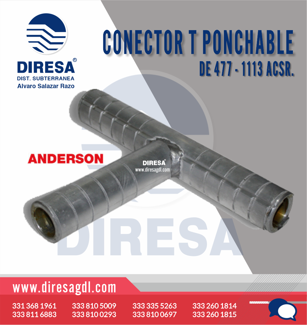 Conector T Ponchable
