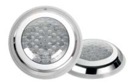 "Lámpara LED Montaje en Pared 9"""