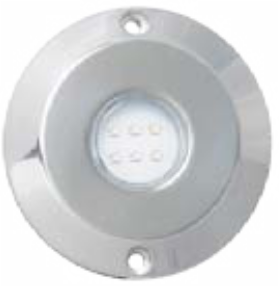 Lampara LED en Acero Inoxidable 316 SERIE DELUXE