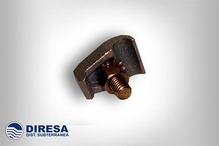CONECTOR DE COBRE CABLE A SOLERA 2 - 250
