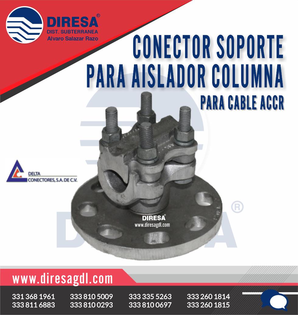 Conector Soporte para Aislador Columna para Cable ACCR
