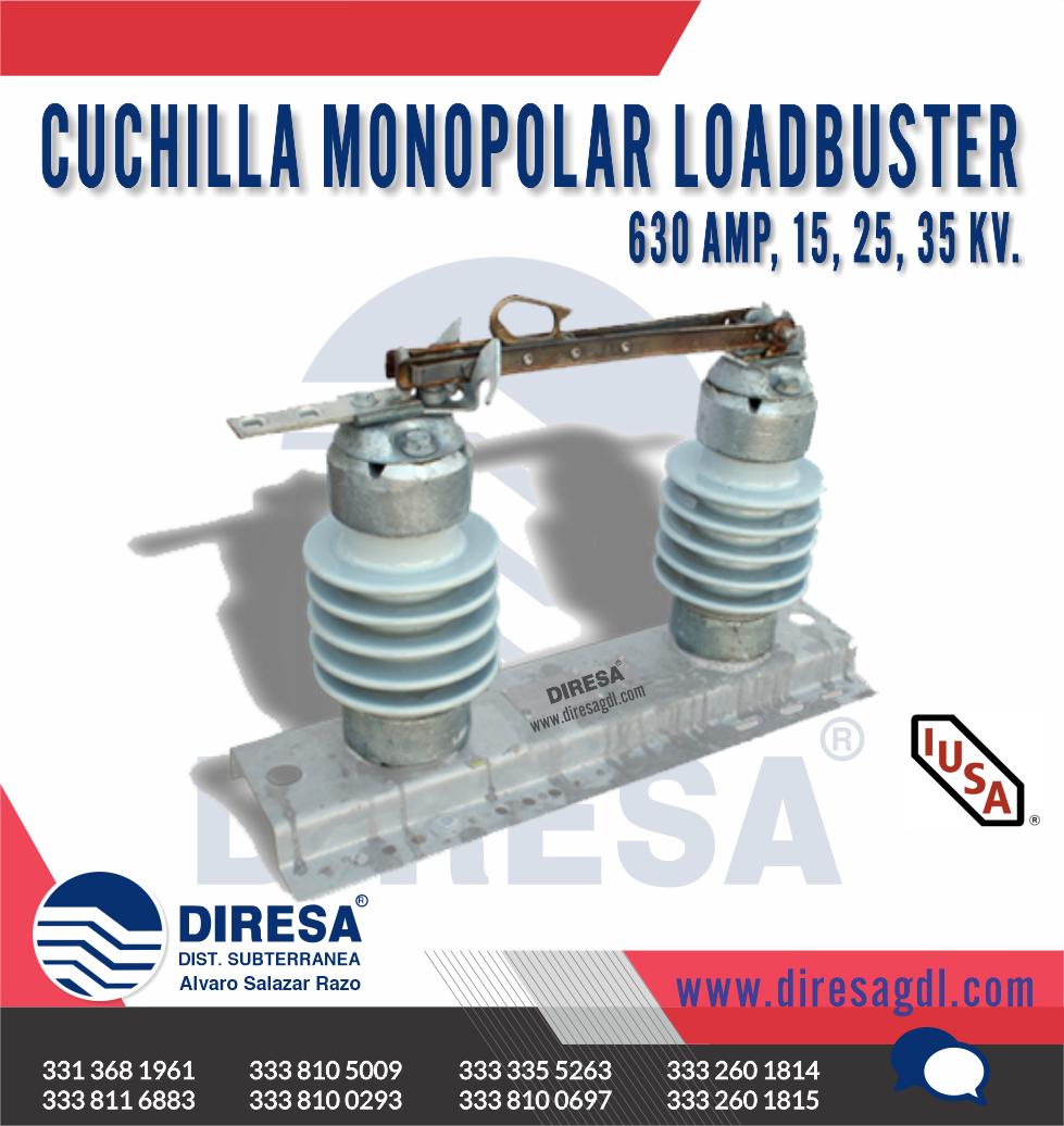 Cuchilla Monopolar Loadbuster