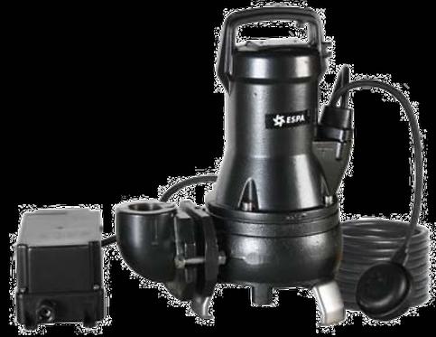 BOMBAS SUMERGIBLES (con impulsor triturador)DRAINCOR 200/1220A