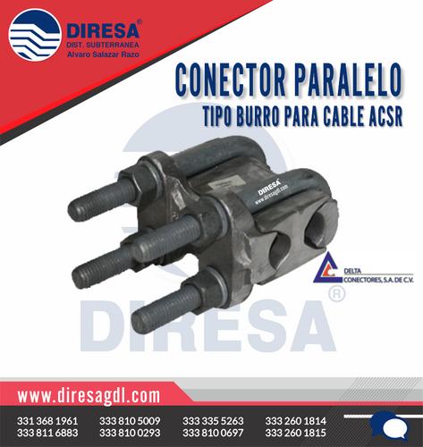 Conector Paralelo Tipo Burro para Cable ACSR