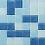 Thumbnail: Mosaico Veneciano para Piscina MIX BAHIA COMBINACIÓN DE AZULES MALLA