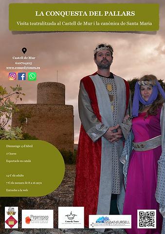 Cartel Visita teatralizada Castell de Mu