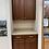 Thumbnail: Cabinet Set - brown with corian top, 2pcs