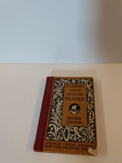 Vintage McGuffey's Third Eclectic Reader Revised Edition
